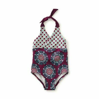NERINA BEACH HALTER ONE PIECE