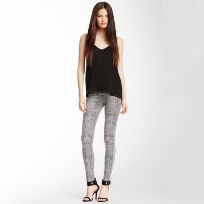 ROMEO & JULIET COUTURE - Line Patterned Jeans