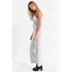 URBAN OUTFITTERS - GREY KNIT JUMPSUIT