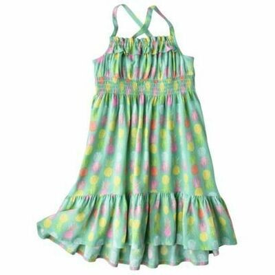 Pineapple Green Maxi Dress