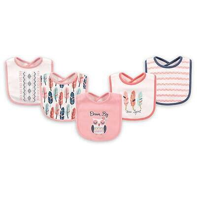 Hudson Baby - Cotton/Terry Bibs 5-pack