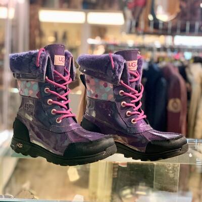 Girls UGG Purple Snow Winter Boots