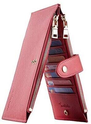 Travelamb Bifold wallet - red