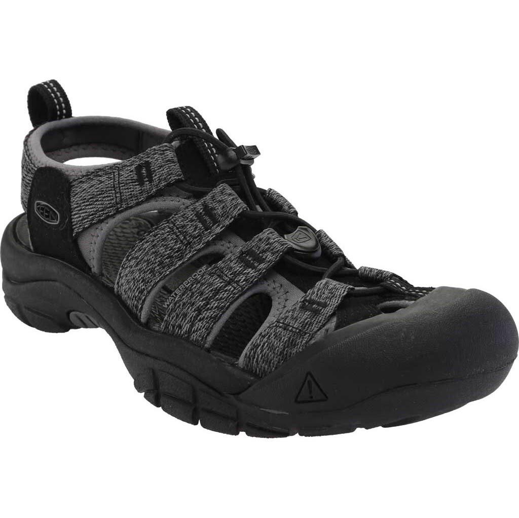 Keen Newport H2 Sandal - Black/Steel Grey