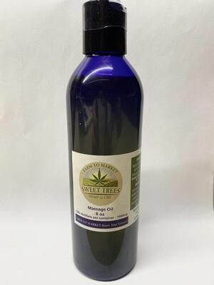 Massage Oil - 8 OZ 500mg