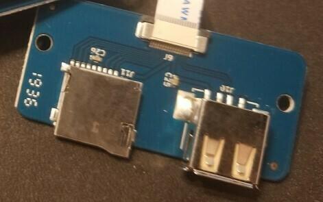 X1 / GENIUS 3d printer Replacement USB/SD board, Ver4.