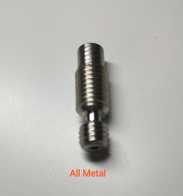 High quality X1 screw in ALL METAL heatbreak/throat