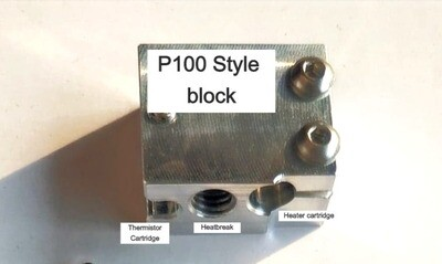 Thermistor and 50w heater (SUIT P100 block),