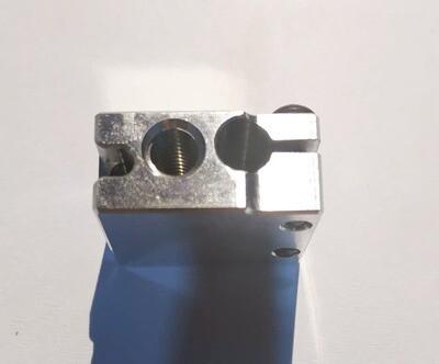 P100 style alloy Heater Block