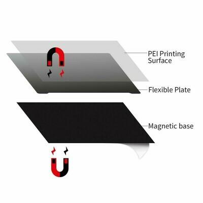 Happy flex. magnetic Smooth PEI flex plate 235 x 235 or 310 x 310 suit X1 & Genius