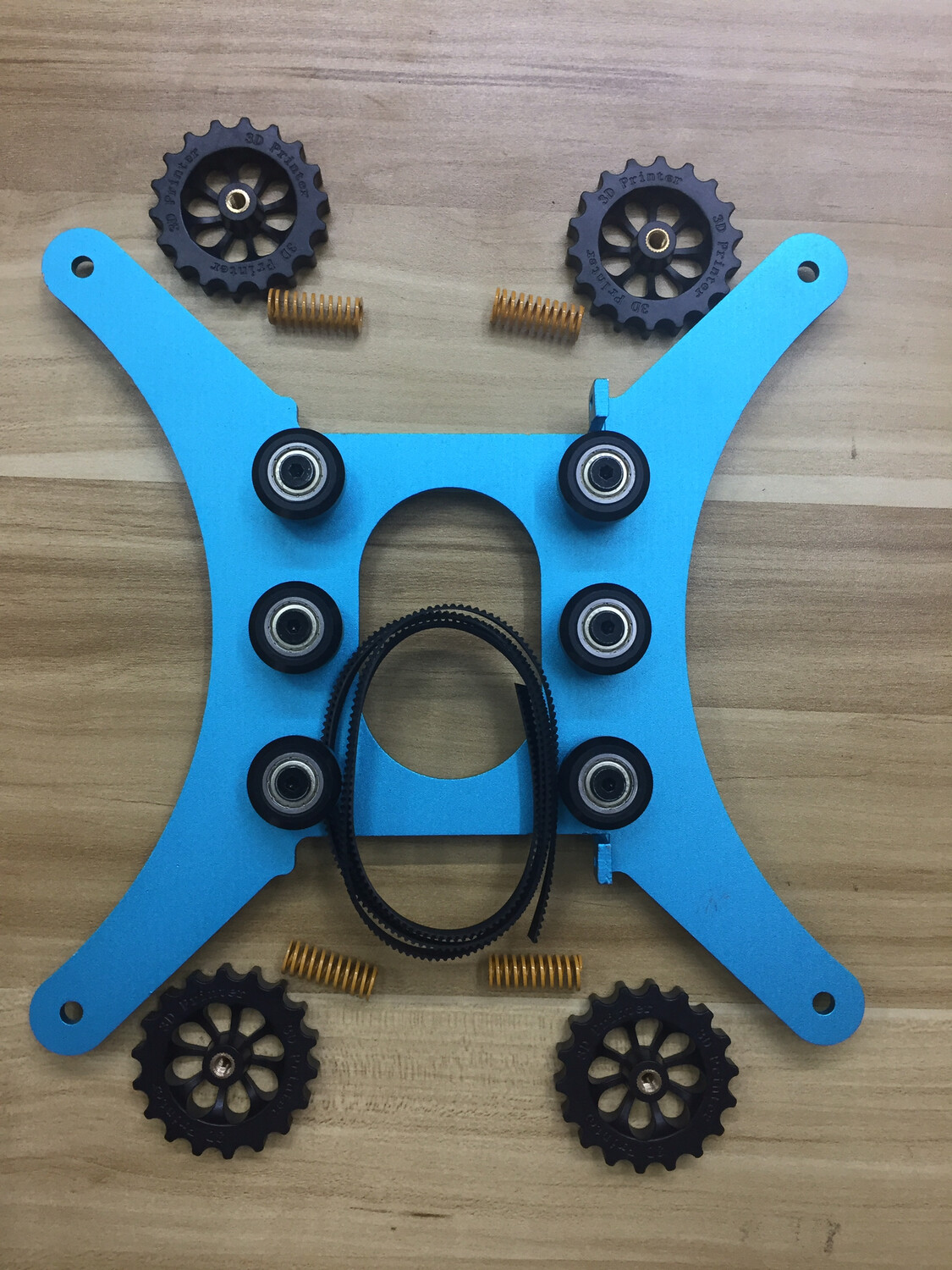 X1 .. Y-AXIS BED MOUNT bracket