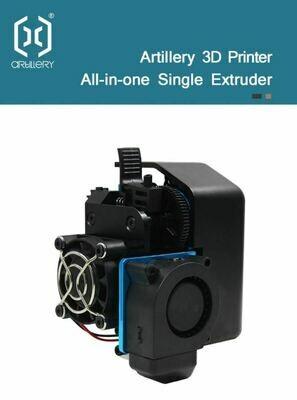 Complete original Evnovo Hotend/extruder V2. X1/Genius.  In-stock, ready to ship,