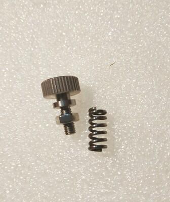 Alloy Titan adjustment screw