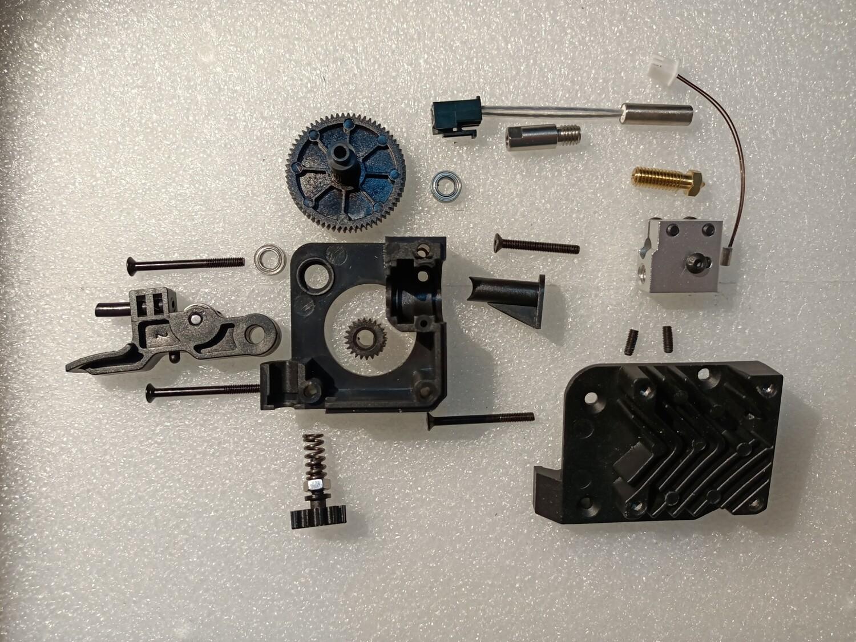Extruder & hotend kit. 24 piece.