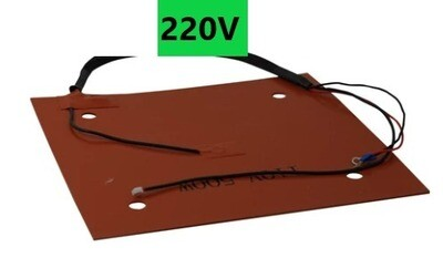 X1 Replacement Silicon bed Heater Pad 220v (old wire sheaf type) Clearance