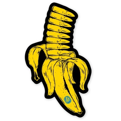 BANANA CLIP STICKER