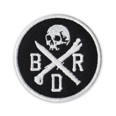 BRD SKULL PATCH
