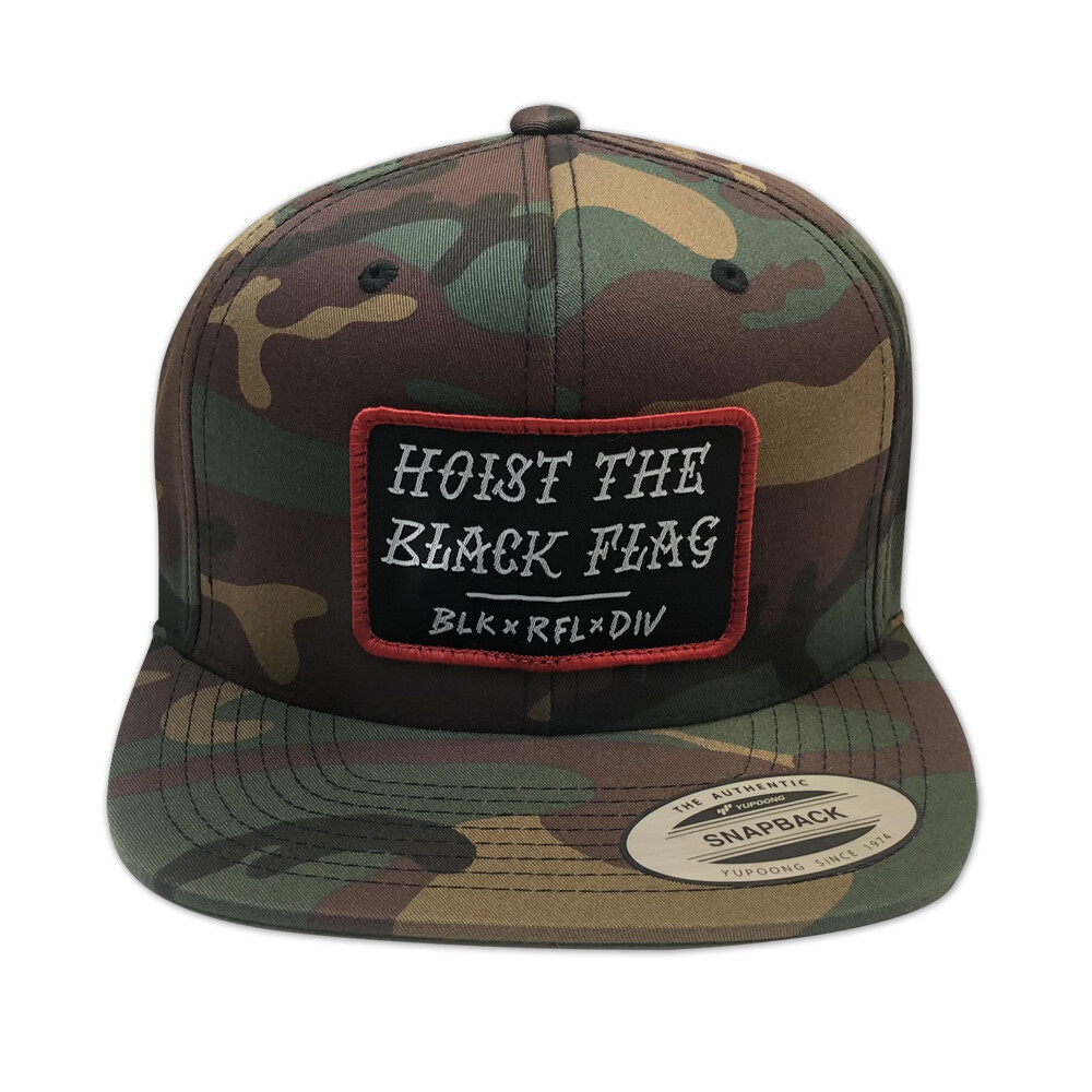 BLACK FLAG CAP