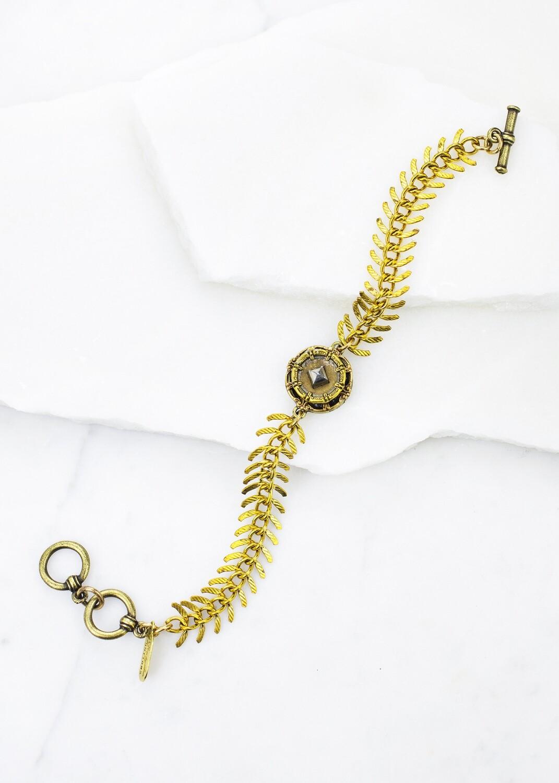 Fishbone chain brac /B869B