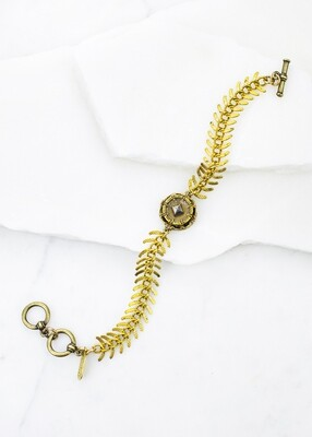 Fishbone chain brac /B869B