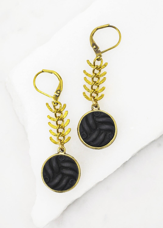 Vintage Earrings /D864B