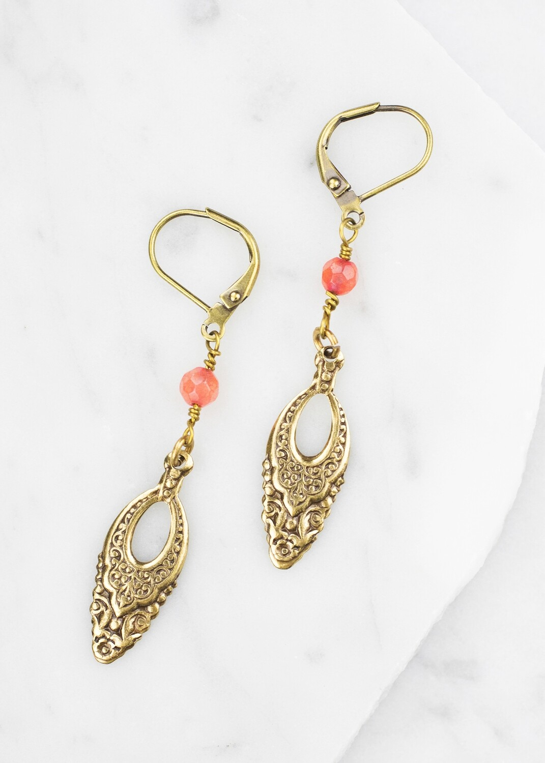 Vintage Earrings /D878B
