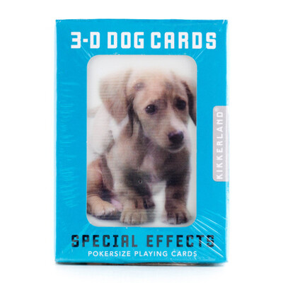 Dog 3D Cards /GG40