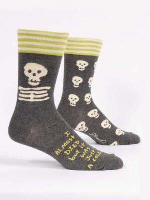 I Almost Died Men's Socks /866
