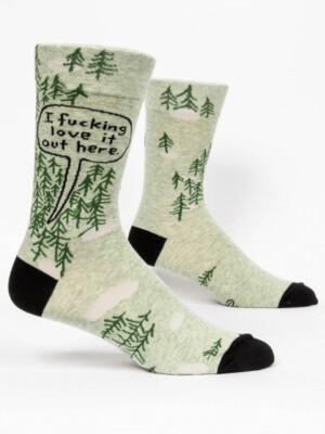 I F!@# Love It Men's Socks /843