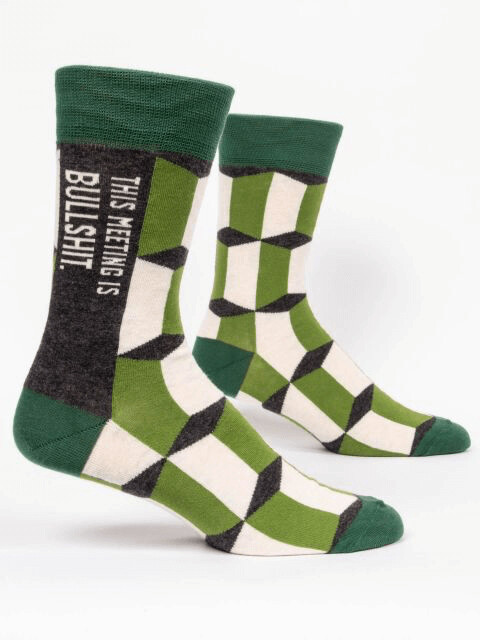 Meeting Men's Socks /828