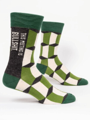 Meeting Men's Socks /828