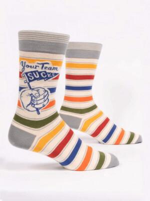 Your Team Sucks Men's Socks /868