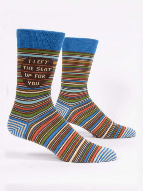I Left Men's Socks /865