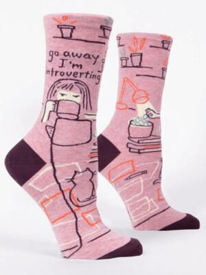 Go Away Crew Socks /504