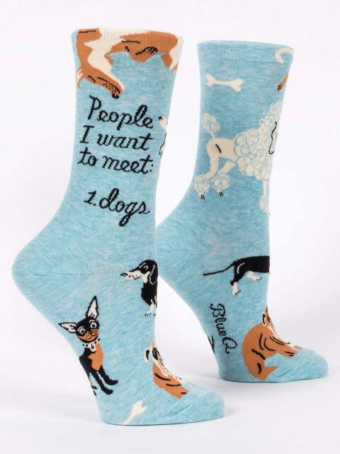 People To Meet: Dogs Crew Socks