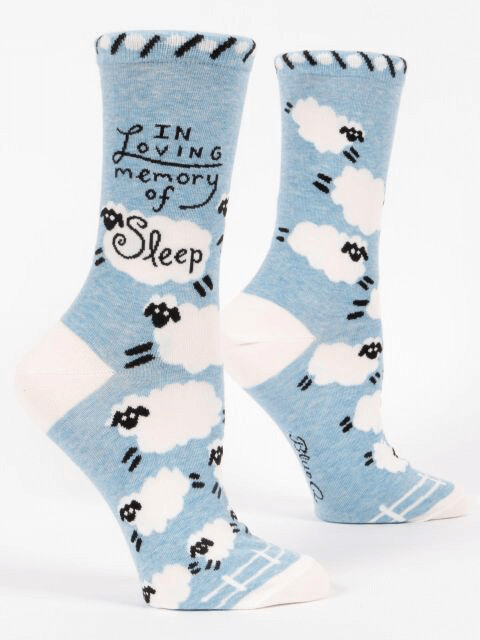 Loving Memory Crew Socks /522