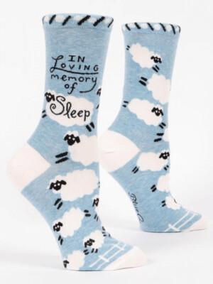 Loving Memory of Sleep Crew Socks /522