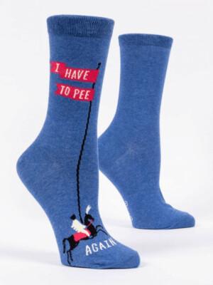 I have to Pee Crew Socks