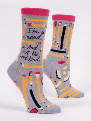 I'm a Nerd Crew Socks /518