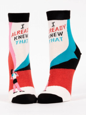 I Already Knew Ankle Socks /658