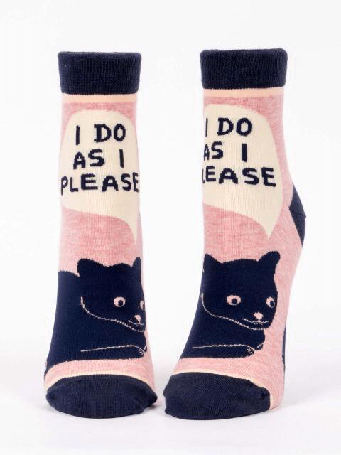 I Do As I Please Ankle Socks /646