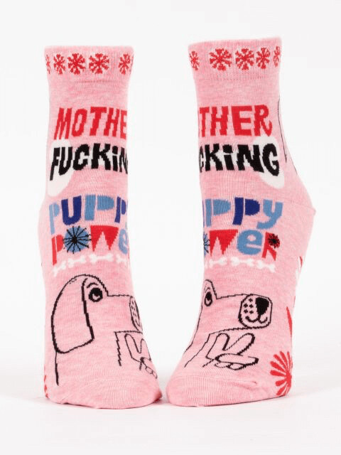 Puppy Power Ankle Socks /656