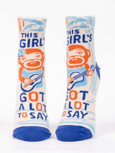 Girl'sGotALot Crew Socks /649