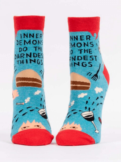 Inner Demon Ankle Sock /651