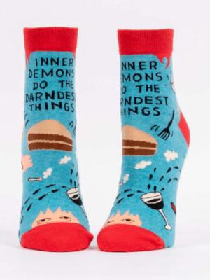 Inner Demon Ankle Sock /651