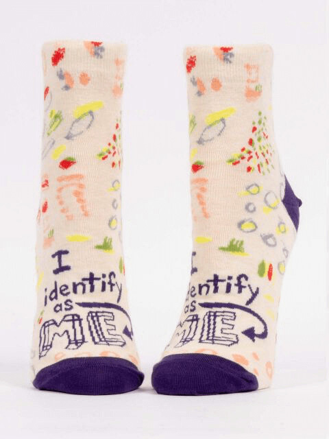 I Identify As Me Ankle Socks /653