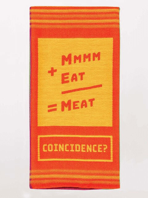 Mmm Meat Dish Towel