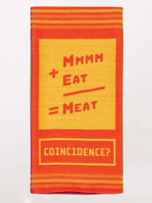 Mmm Meat Dish Towel /WW615