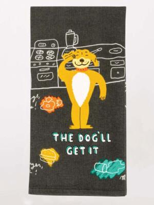 The Dog'll Dish Towel /WW340