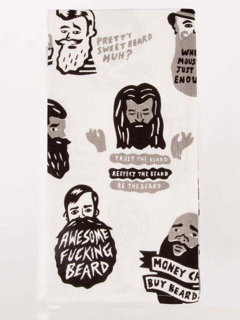 Beard Dish Towel /WW329